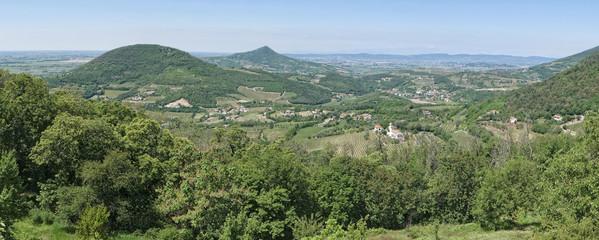 Italy, Euganean hills