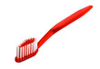 red toothbrush