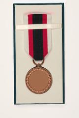 Blank medal
