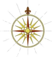 Former Marine Wind Rose symbol