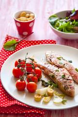 Triglie con pomodorini