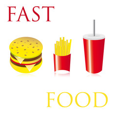 Fast food complet