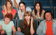 Woman On Phone Call In Theater