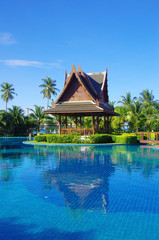 swimming pool in Thailand