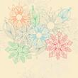flower motive