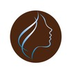 Beautiful woman profile logo