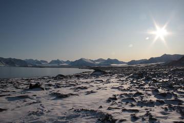 Wanderung im Fjord
