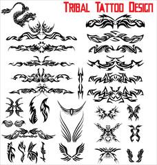 Tribal Tattoo design - set