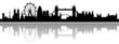 London Skyline mit Schatten