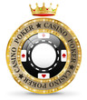 Casino icon with crown
