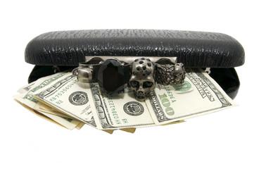 сумка и деньги