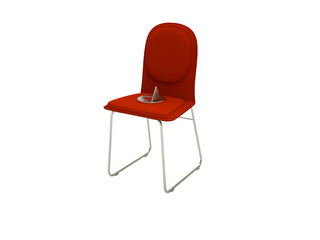 drawing pin chair