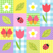 spring pattern - 39720818