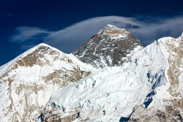 everest from way to everest base camp