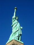 New York: The Statue of Liberty, an American symbol. USA poster