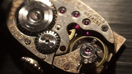 Pair of Mechanical Watch Movements