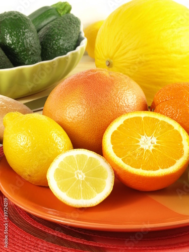 Mouth watering fruits for breakfast