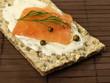 Diet low-fat slice of bread