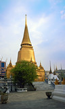 Phra Si Ratana Chedi stupa poster