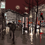 Fototapety Paris at night