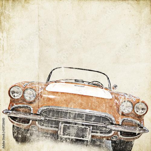 Fototapeten,jahrgang,retro,autos,hintergrund