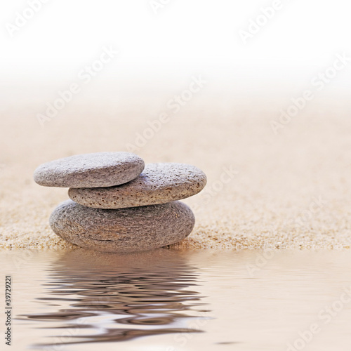Fototapeten,kieselstein,zen,sand,besinnung