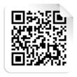 QR code label concept
