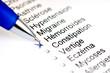 Questionnaire médical hémorroïdes