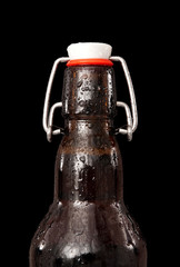 beer bottle detail