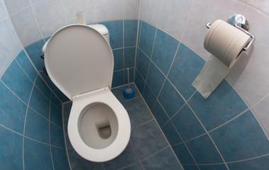 empty toilet