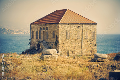 Byblos landmark , inhabited since thousands of years (Lebanon)