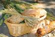 Gefülltes Brotkörbchen
