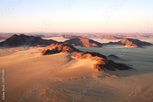 Namibian desert from high