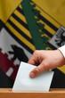 Wahlurne Sachsen Anhalt