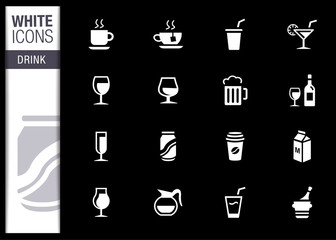 White - Drink Icons