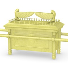 3d render of ark of the covenant