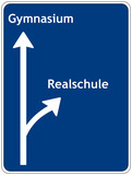 Realschule oder Gymnasium poster