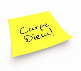 Notizzettel - Carpe Diem!