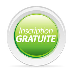 bouton inscription gratuite