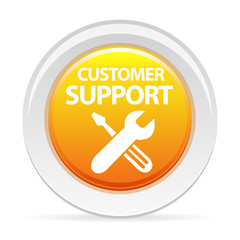 icône support client