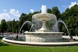 Fototapete Garten - Wasser - Brunnen