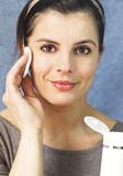 facial cleansing milk poster