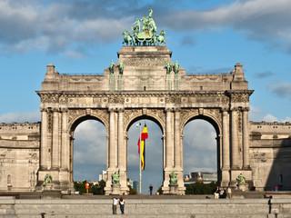 Triumphal Arch, Parc du Cinquantenaire, Brussels, Belgium