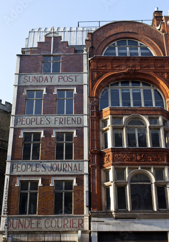 Publishing Buildings on Fleet Street in London