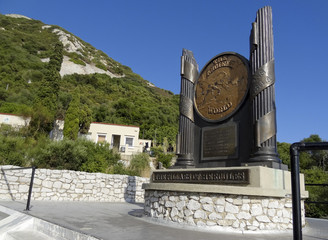 Pillars of Hercules Monument Gibraltar