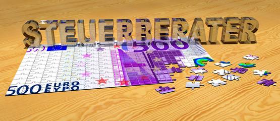 3D Puzzle - STEUERBERATER