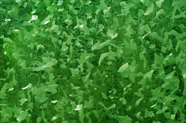 Hierro galvanizado, fondo verde, metal