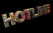3D Feuerschrift - HOTLINE