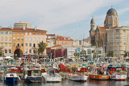 Le port de Saint Raphael