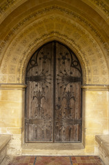 Church Side Door